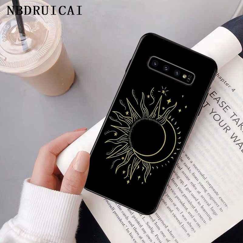 Nbdruicai Magic Moon Tarot TPU Lembut Silicone Ponsel Case PENUTUP UNTUK Samsung S9 Plus S5 S6 Edge Plus S7 Edge s8 Plus S10 E S10 PLUS