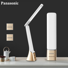 Panasonic LED Desk Lamp Touch Sensor Folding Table Portable USB Rechargeable Light Night Bedside Lights