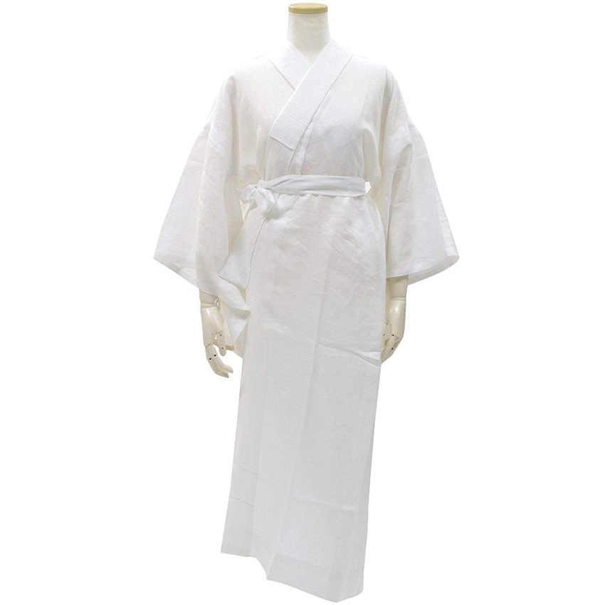 Innder Costumi di Usura Lungo Kimono Robe per le donne Degli Uomini Tradizionale Giapponese Yukata Casa Indossare un Pigiama Nagajuban Biancheria Intima Traspirante