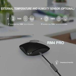 Image 2 - BroadLink RM4 PRO สมาร์ทควบคุมรีโมทคอนโทรล HTS2 อุณหภูมิความชื้นเซนเซอร์ทำงานร่วมกับ Alexa Google Home