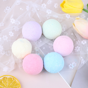 1 Pcs Organic Bath Salt Ball Natural Bubble Bath Bombs Ball Rose Green Tea Lavender Lemon Milk