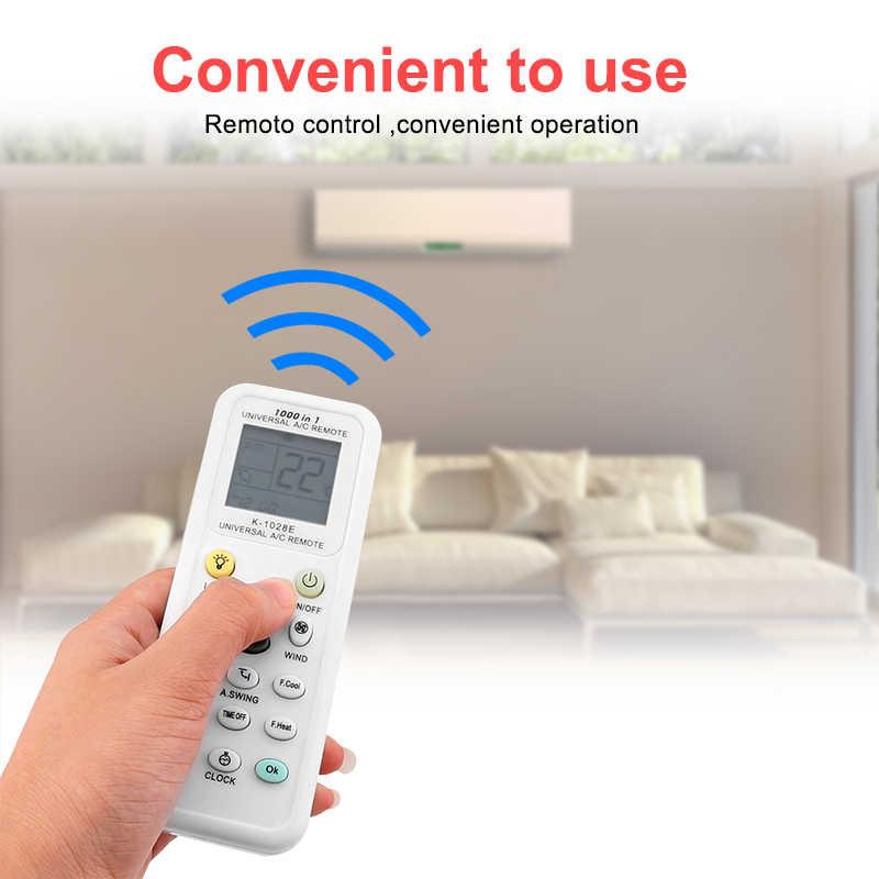 ビッグ Lcd ディスプレイ用のリモートエアコン低消費電力 K-1028E エアコンリモコン液晶 A/C リモートコントロールコントローラ