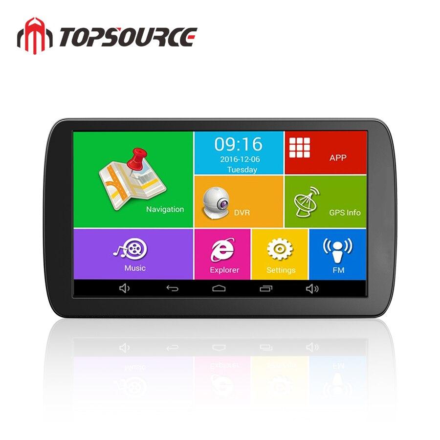 Topsource Mobil Dvr 9 Inch Android 6 0 1g 16g Dash Cam Hd Penuh 1080p Video Perekam Kamera Gps Truk Navigasi Kendaraan Kendaraan Gps Aliexpress