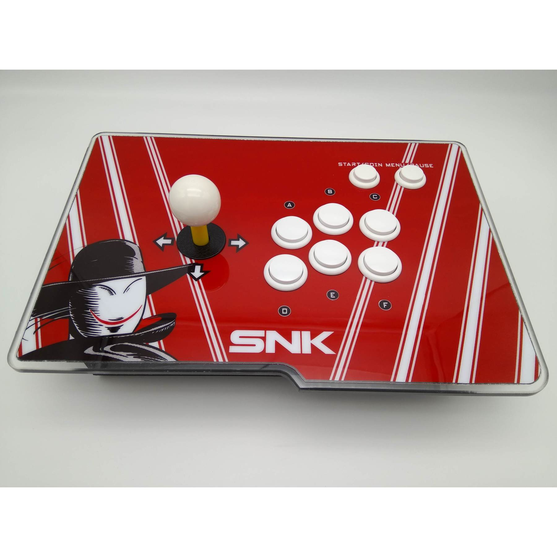 JOYSTICK RED FOR BARTOP/NEO GEO MVS 15 PIN NEW|Replacement Parts & Accessories| |  - title=