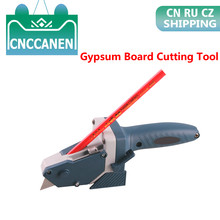 1PC Gypsum Board Cutting Tool Drywall Cutting Artifact Tool With Scale Toohr Woodworking Scribe Woodworking Cutting Board Tools