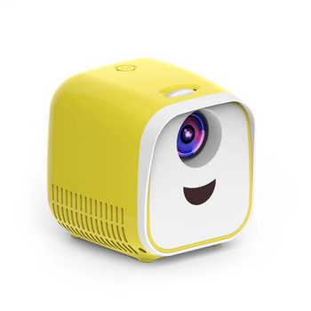 Mini Portable Projectors LED Home Theater Cinema HD 1080P Display USB/HDMI/TF Card Interface Lovely Fashion Projector