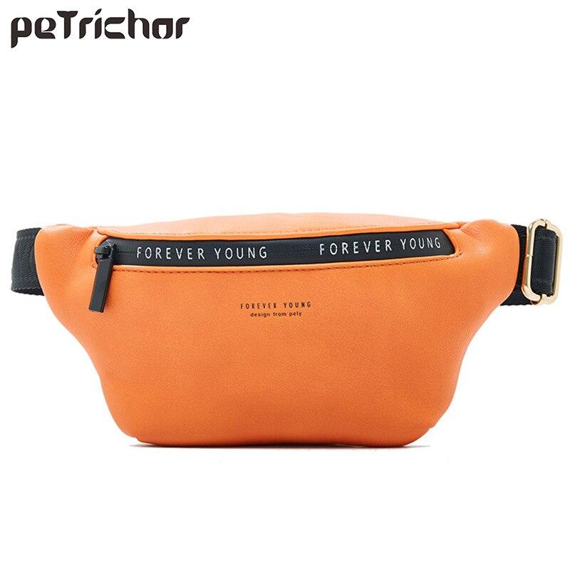 Fashion Multi Function Waist Bag Women Fanny Pack Soft Leather Crossbody Waist Belt Bag Luxury Brand Shoulder Chest Bags Pouch