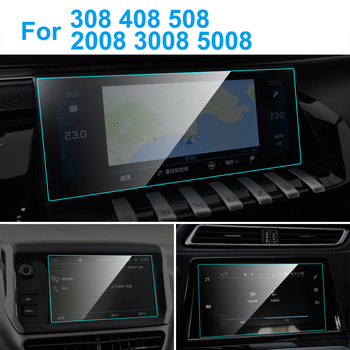 TPU Car GPS Navigation Screen Protector Auto Interior TPU Protective Film For Peugeot 308 408 508 2008 3008 5008 Car Accessories image