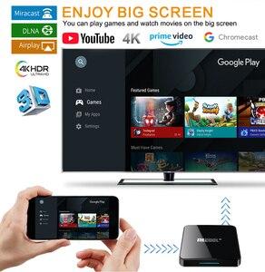 Image 4 - Mecool KM3アンドロイド10.0 tvボックス4グラムDDR4 128グラム64グラムrom amlogic S905X2 2.4グラム/5 3g wifi 4 18k bt音声制御google認定tvボックス