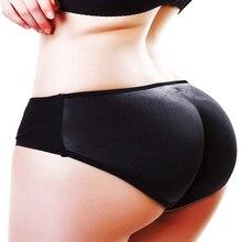 Sexy Underwear Butt-Lifter Body-Shaper Fake-Pads Hip-Enhancer Panties Shorts-Control