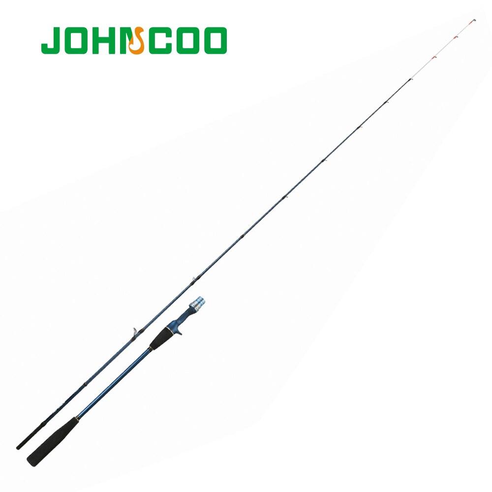 1,95 м 6'6 светильник крючковый лов стержень для лодочная резиновая крючковый лов стержень 40-150g удочка для ловли кальмара охотиться на рифовых ...