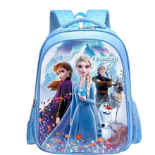 Disney cartoon schoolbag Frozen elsa Anna girls cute primary