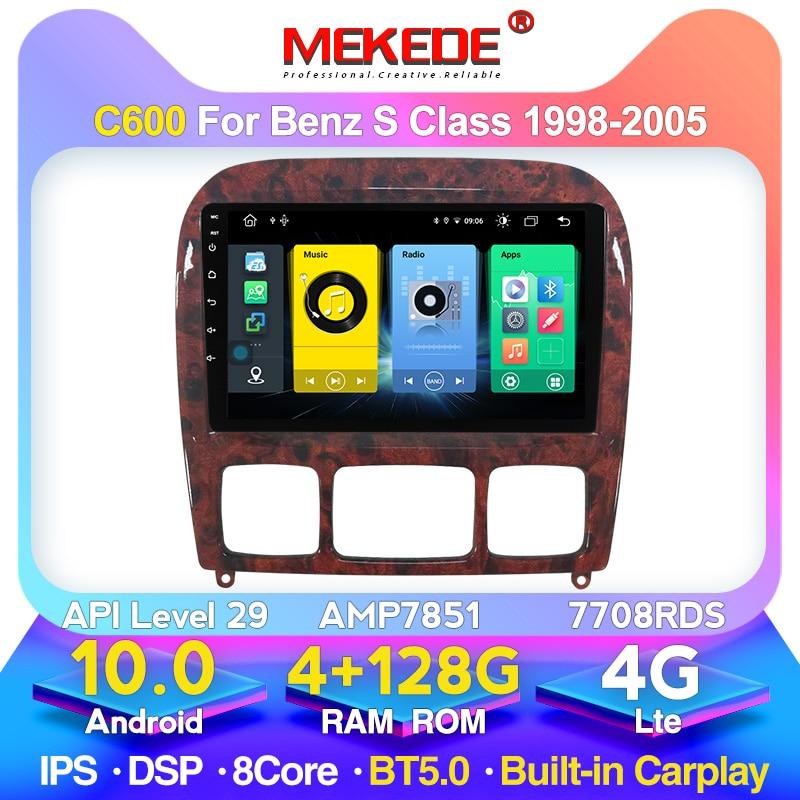MEKEDE الروبوت سيارة مشغل وسائط متعددة GPS نافي لمرسيدس بنز S الدرجة W220 S280 S320 S350 S400 S430 S500 S600 S55 AMG1998-2005