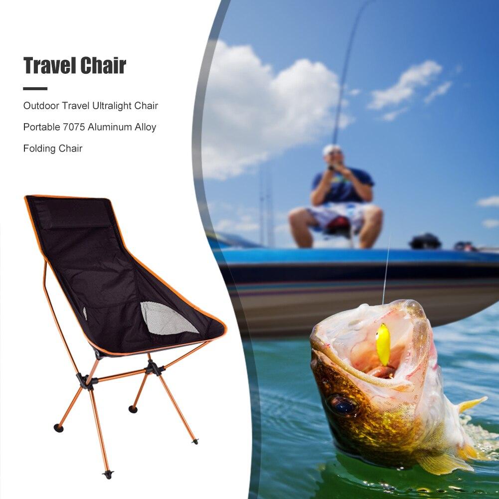 ultraleve dobravel cadeira 7075 liga aluminio 04