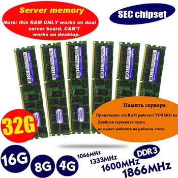 Oryginalny 8GB DDR3 1333MHz 1600Mhz 1866Mhz 8G 1333 1600 1866 REG ECC pamięć RAM do serwera 16gb 16g 32gb 32g x58 x79 2011 4GB 4G sieć europejskich centrów konsumenckich tanie i dobre opinie LANSHUO CN (pochodzenie) Używane 1333 mhz Server 240pin Dożywotnia Gwarancja Pojedyncze 4GB 8GB 16GB 32GB 1 5 V