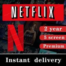 Netflixes pre-mium 4k uhd acc 1-5 telas suporte do serviço de renovação automática em todo o mundo