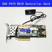 462919-001 013233-001 rangée SAS P410 RAID contrôleur carte 6Gb PCI-E avec 512M de batterie RAM