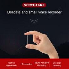 STTWUNAKE dyktafon mini aktywowane nagrywanie dyktafon szpiegowska ukryty micro audio dźwięk cyfrowy dysk flash tajny rekord