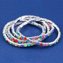 NB23 популярный компактный браслет с инкрустацией бриллиантами изысканный цветной браслет с кристаллами bra27 европейские и американские ювел...
