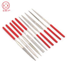 Omy Hot Sale 10 Pcs 180 Mm Mini Jarum File Set Handy Alat untuk Keramik Kaca Batu Permata Hobi dan Kerajinan(China)
