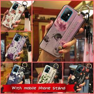 Image 2 - Phone Holder Soft Case Phone Case For Infinix X692/Note8 Wrist Strap Original Wristband Lanyard