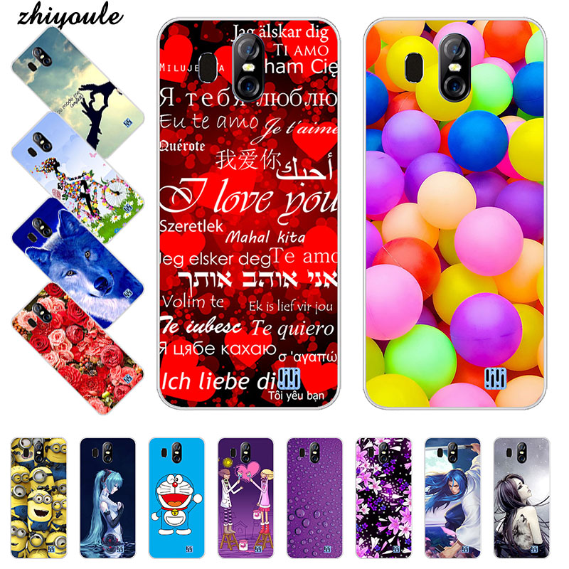 Soft TPU Case For <font><b>Homtom</b></font> <font><b>S16</b></font> Cases For <font><b>Homtom</b></font> <font><b>S16</b></font> S 16 5.5 inch Silicone DIY Painted Protective Phone Covers image