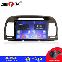 Android 9.1 4G wifi 2 din car radio for Toyota Camry 2002 2006 car dvd player autoradio car audio car stereo auto radio 2G 32G