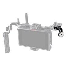 CAMVATE Стандартный 15 мм одиночный штанговый зажим с фиксатором ARRI Rosette M6 женский Резьбовой Адаптер для цифровой зеркальной камеры установка DIY аксессуары Монтажная New