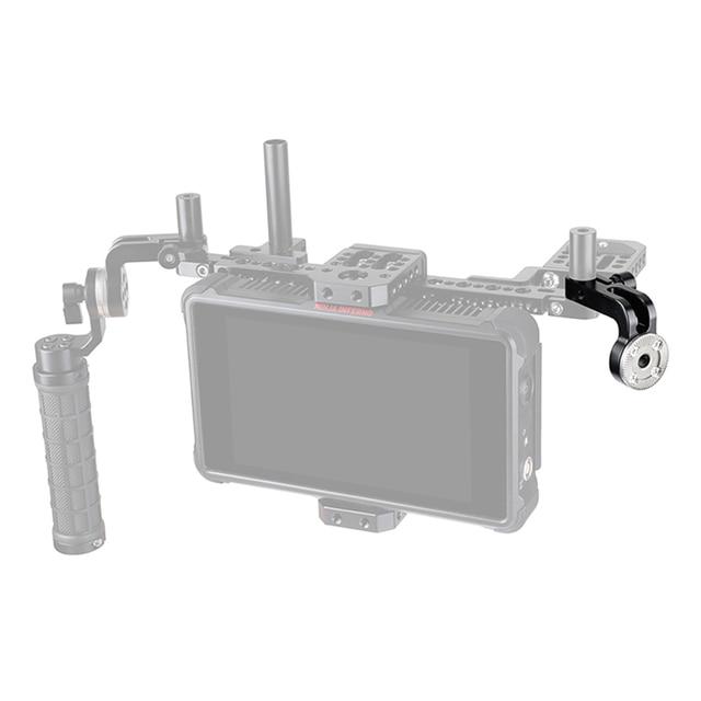 CAMVATE Standard 15mm simple tige pince avec ARRI Rosette M6 femelle filetage adaptateur pour DSLR Cage plate forme bricolage accessoires montage nouveau