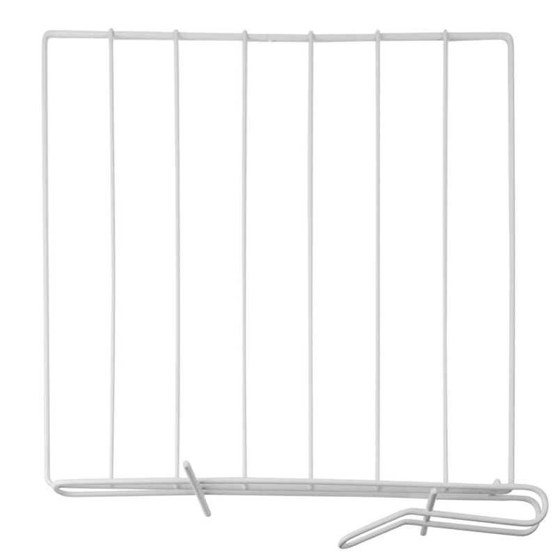 3PCS Closet Shelf Dividers Space Saving Shelves Wire Design White Wardrobe Chest Drawer Organizer Clothes Storage Rack