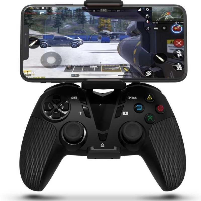 Ifyoo controle wireless para ps4, chamada de duty mobile gamepad, para iphone/ipad/mac/apple tv/android/pc steam/playstation4,