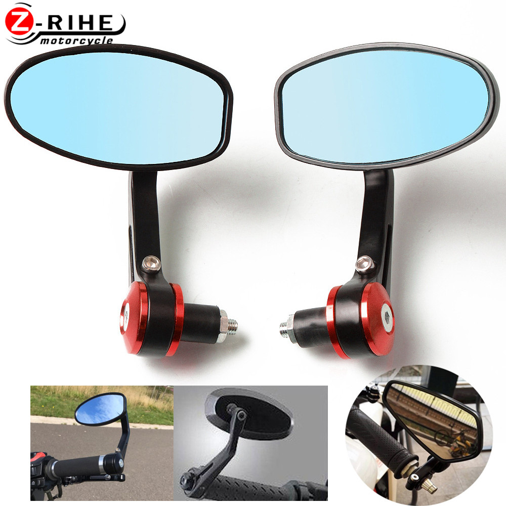"for 7/8"" 22MM Handlebar Motocycle Rearview Mirrors Aluminum Alloy Motor Side Mirrors Accessories For Honda NC700 S X 2012 2013 N"