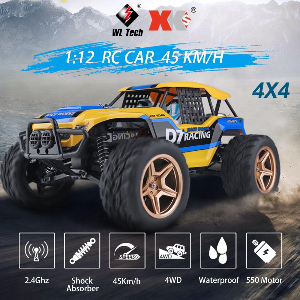 Wltoys D7 4WD 12402-A RC 1/12 550 XK