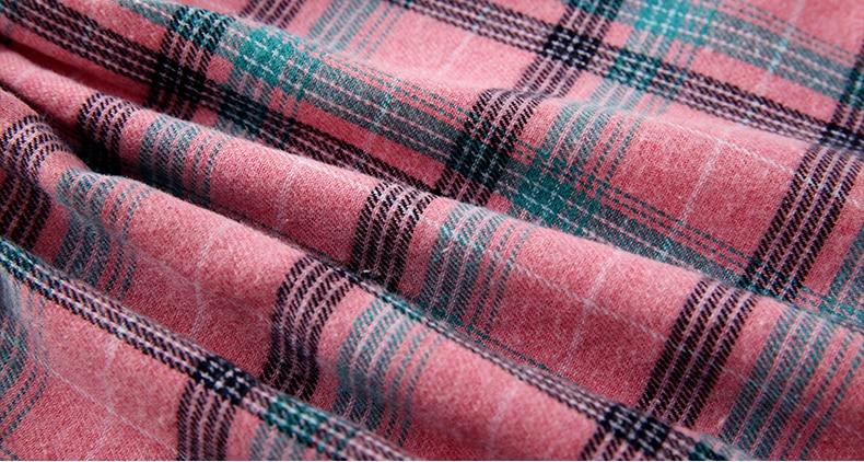 padrão bolso manga longa vestido para 3-10y roupas adolescentes vestido