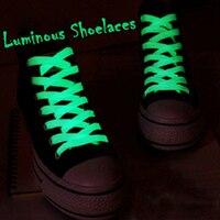 1 par luminoso los cordones de los zapatos de los hombres calzado deportivo para mujer cordones cuerdas brillante Led fluorescente Led de cordón para zapatillas de deporte casuales zapatos de encaje