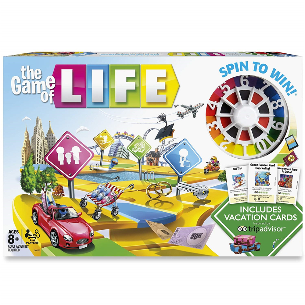 NEW The Game Of Life Board Game Parents And Kids' Floor