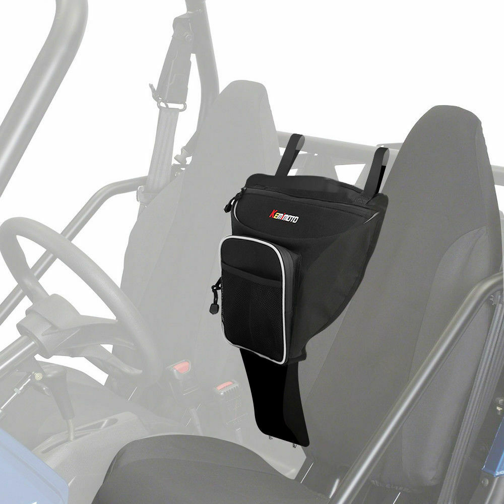 KEMiMOTO Cab Pack Holder Center Storage Bag UTV For Polaris Ranger RZR 4 800 RZR 570 800 1000 RZR XP 4 900 RZR XP 900