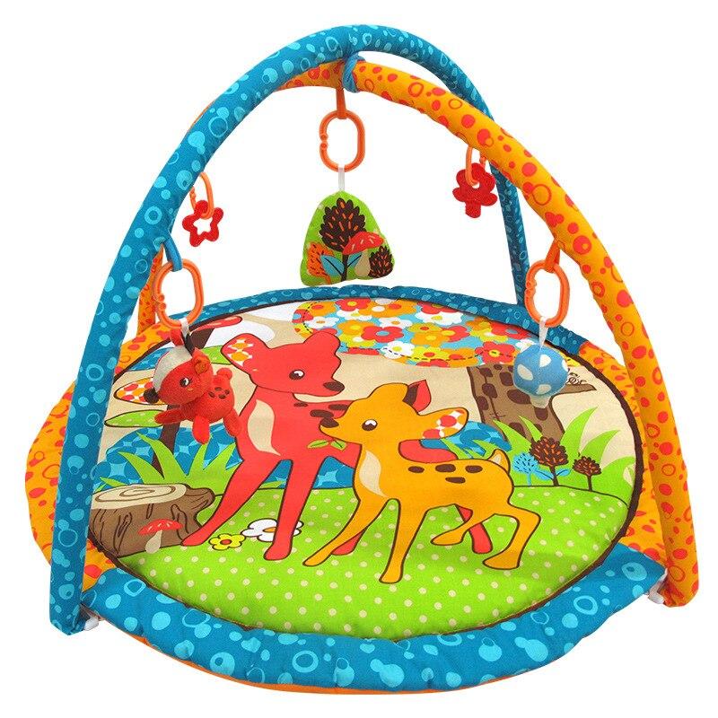 Tapis rampant pour bébé jeu pour nourrissons tapis rampant pour nouveau-nés éducatif pour la petite enfance support de Fitness ramper couverture de jeu