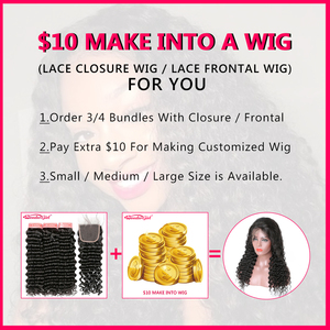 Image 5 - Brazilian Straight Hair Bundles With Closure Wonder girl Remy Human Hair Bundles With Closure Can Be Customized into a Wig