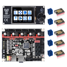 Плата 3D принтера BIGTREETECH SKR V1.3 + сенсорный экран TFT24 + TMC2209 TMC2208 UART TMC2130 для Ender 3/5 VS TFT35, запчасти для 3D принтера