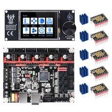 หน้าจอ: BIGTREETECH SKR V1.3 3Dเครื่องพิมพ์ + TFT24 หน้าจอสัมผัส + TMC2209 TMC2208 UART TMC2130 สำหรับEnder 3/5 VS TFT35 3Dชิ้นส่วนเครื่องพิมพ์