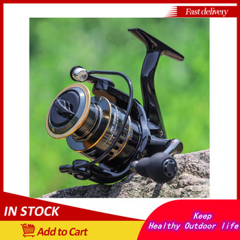 Fishing Reel HE7000 Max Drag 10kg 5.2:1 High Speed Metal Spool Spinning Reel Saltwater Reel Carp Reel Fishing