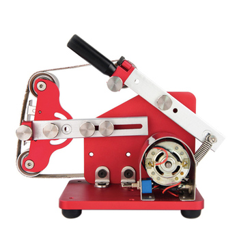 Miniature Polisher Mini Belt Machine Desktop Polisher Small Polisher DIY Electric Multifunction Sander For polishing Polishing недорого