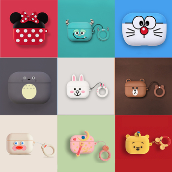 2019 Cartoon Silicone  Case For Airpods Pro Case Wireless Bluetooth Case for airpod 3 Cover Case For Apple Air Pods Fundas Coque