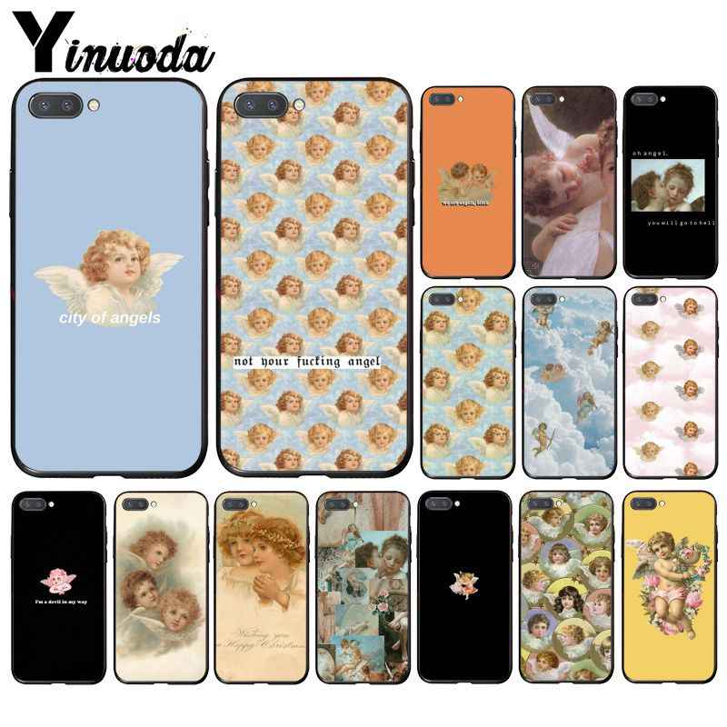 Yinuoda Renaissance เคสโทรศัพท์ Angels สำหรับ Huawei Honor 8X 9 10 20 Lite 7A 5A 7C 10i 9X Pro Play 8C