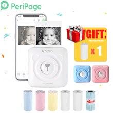 PeriPage – Mini imprimante thermique portable avec Bluetooth, appareil d'impression de photos et d'images, machine de poche pour téléphone Android et iOS, 58mm