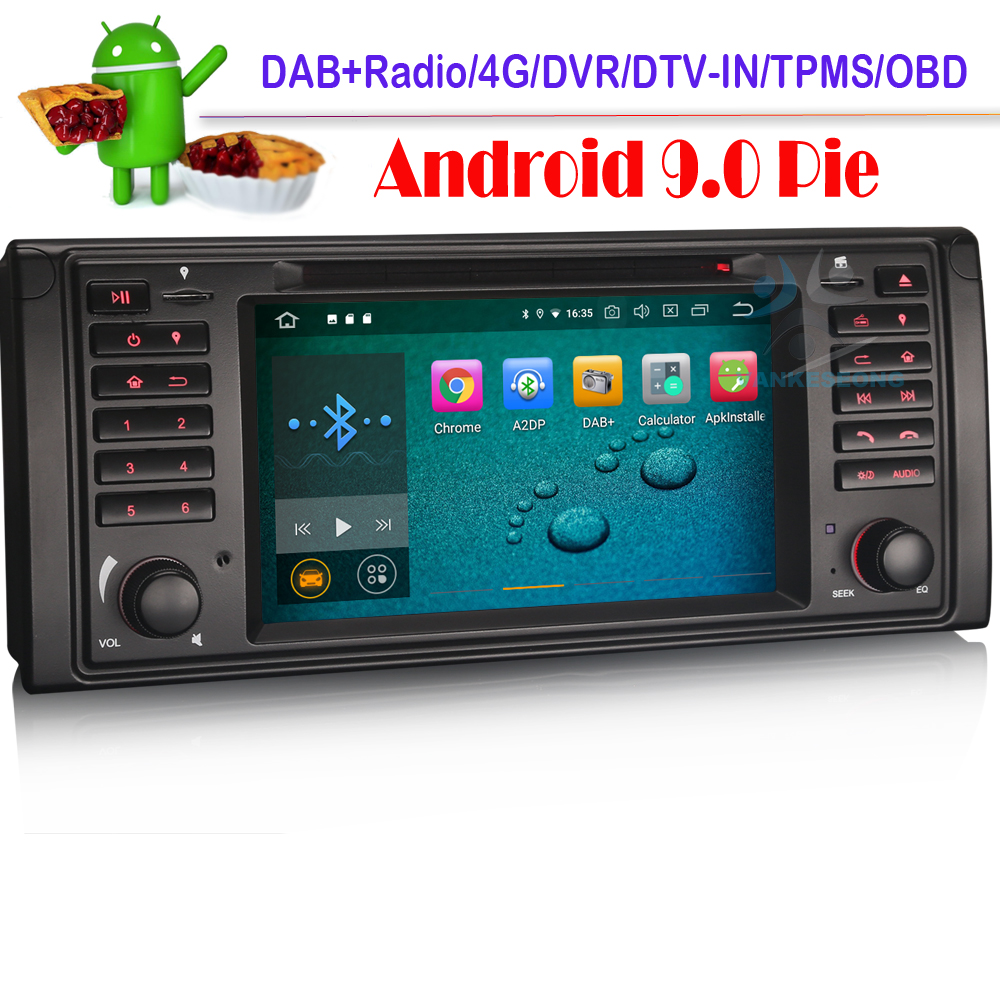 Android 8.1 Octa Core Autoradio Fr BMW E39 5er E53 Mit GPS Navi ...