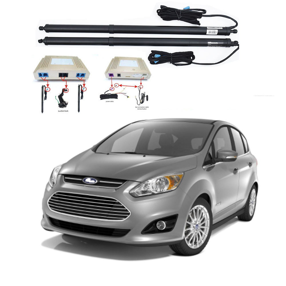 New Electric Tailgate Refitted For FORD C-MAX S-MAX Hatchback  Tail Box Intelligent Electric Tail Door Power Tailgate Lift Lock