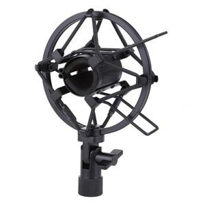 Image 1 - Metall Shockmonut Studio Aufnahme Mikrofon Shock Mount Spinne Mic Halter Clip