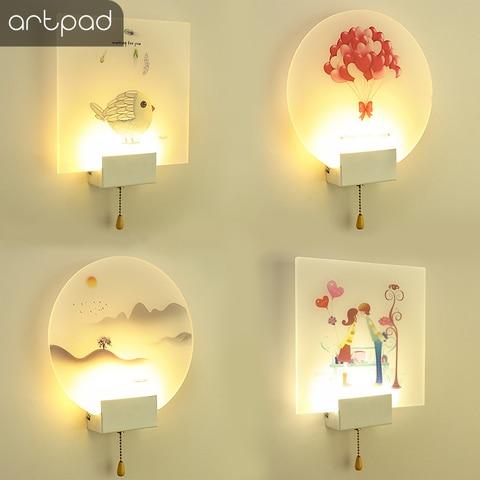 imagem lampada de parede cabeceira quarto corredor
